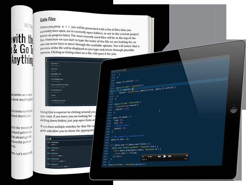 sublime text tutorial pdf