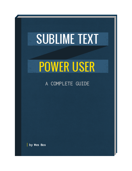 Sublime text power user 20 video tutorials to help you learn how speed up developmentoptimize workflowsbecome a better developer fandeluxe Gallery