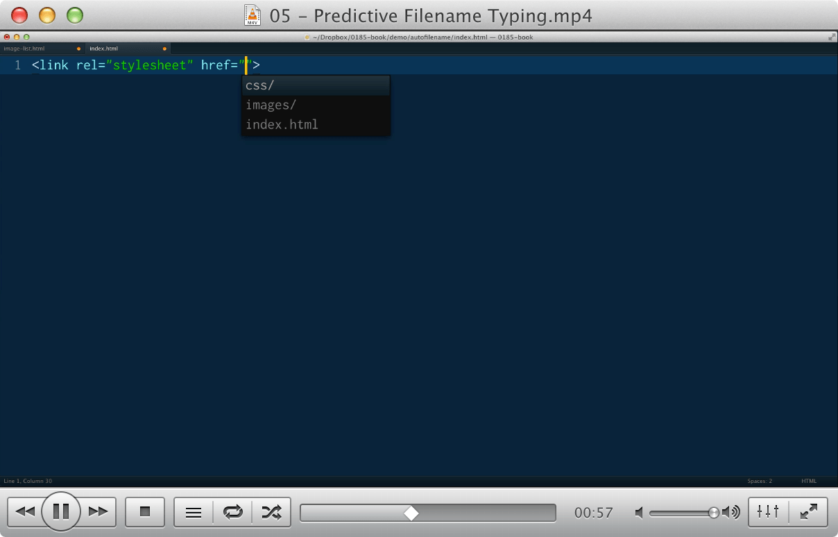 05 - Predictive Filename Typing