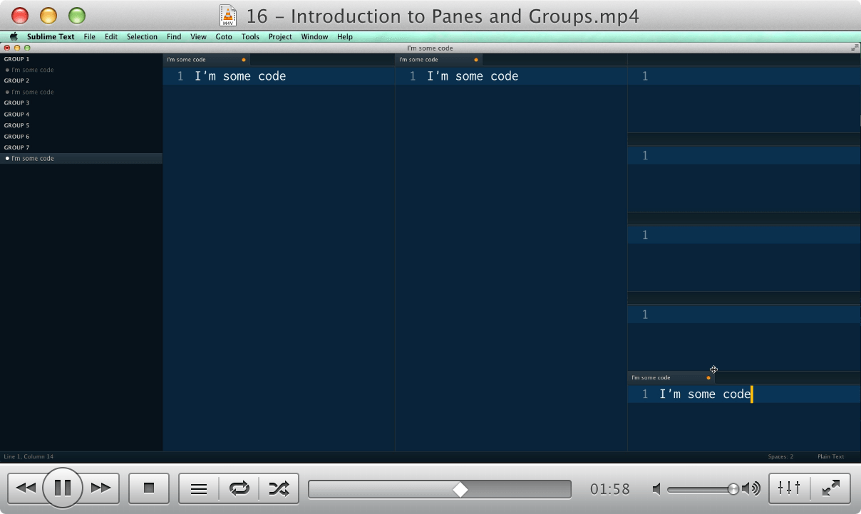 16 - Introduction to Panes and Groups